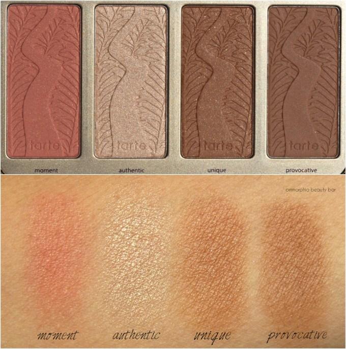 tarte-pretty-paintbox-blush-bronzer-highlighter-swatches