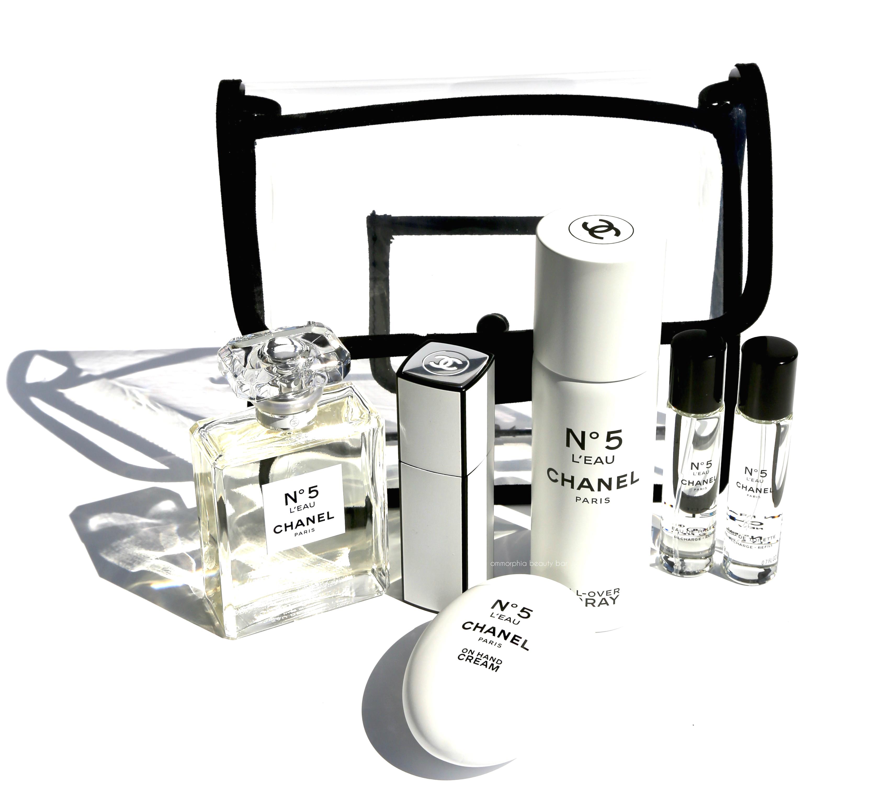 8426bc887a CHANEL · Nº5 L'Eau All-Over Spray & On Hand Cream | ommorphia beauty bar