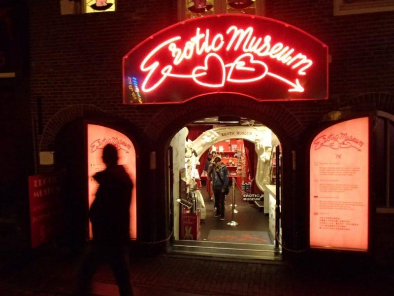 Амстердам красные фонари