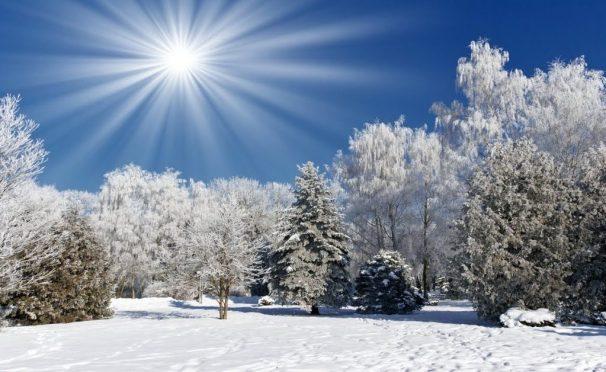 НАРОДНЫЕ ФЕВРАЛЬСКИЕ ПРИМЕТЫ зима мороз солнце снег голубой