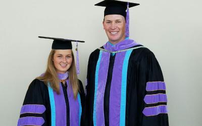 Congratulations Dr. Jones and Dr. Nensel!