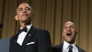 President Obama brings Keegan-Michael Key to the Correspondents' Dinner