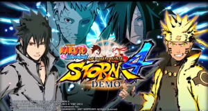 New E3 Naruto Shippuden Ultimate Ninja Storm 4 Gameplay of Six Paths Naruto, Rinnegan Sasuke, Jinchuriki Obito