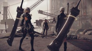 """Watch The New NieR: Automata """"Glory to Mankind 119450310"""" Trailer"""