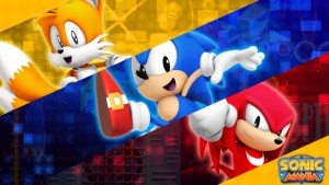 First Look At Sonic Mania Green Hill Zone Act 2 & Seamless Transition