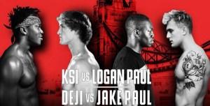 A DRAW!?! KSI v Logan & Deji v Jake – My Opinions Of The YouTube Boxing Brawl