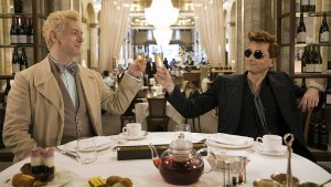 Good Omens: A Series About An Angel & A Demon Preventing Armageddon Because They Don't Wanna Leave Earth!