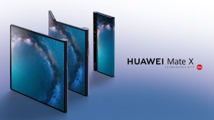 Huawei Mate X – The First Foldable Phone That Actually Looks Functional!