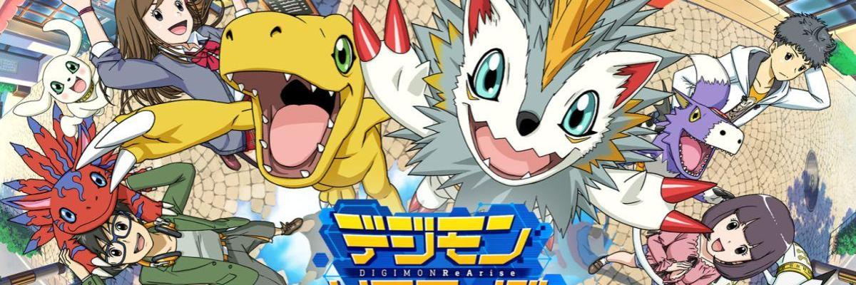 New Digimon ReArise Mobile Game Coming To West In 2019