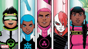 Meet SNOWFLAKE AND SAFESPACE! Marvel's New 'New Warriors' That United Both Sides For The First Time In Years!