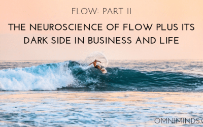 The neuroscience of flow PLUS its dark side in business and life