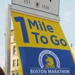 Boston marathon, 1 mile