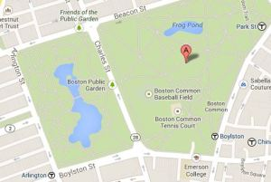 boston,Public Garden,Common, BAA 10K