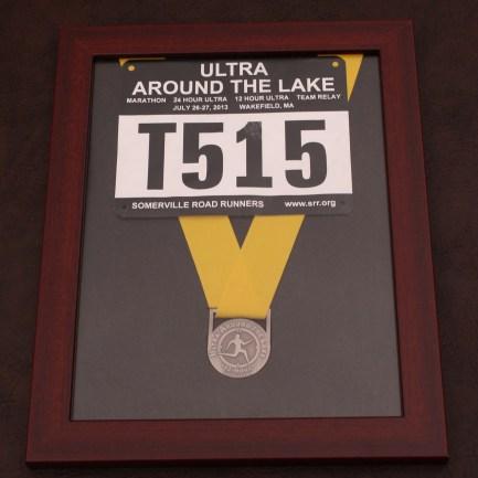 Finisher's medal frames for $29.00
