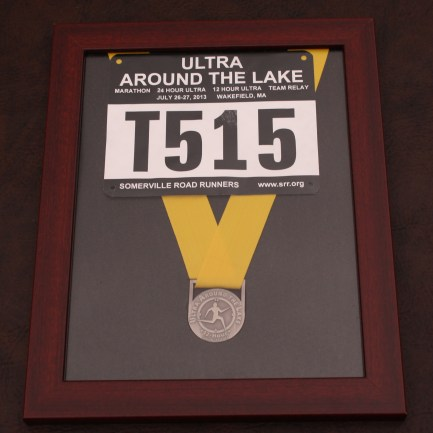Finisher's medal frames for $29.00