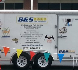 B&S Event Management at Wilmington Half and 5K race
