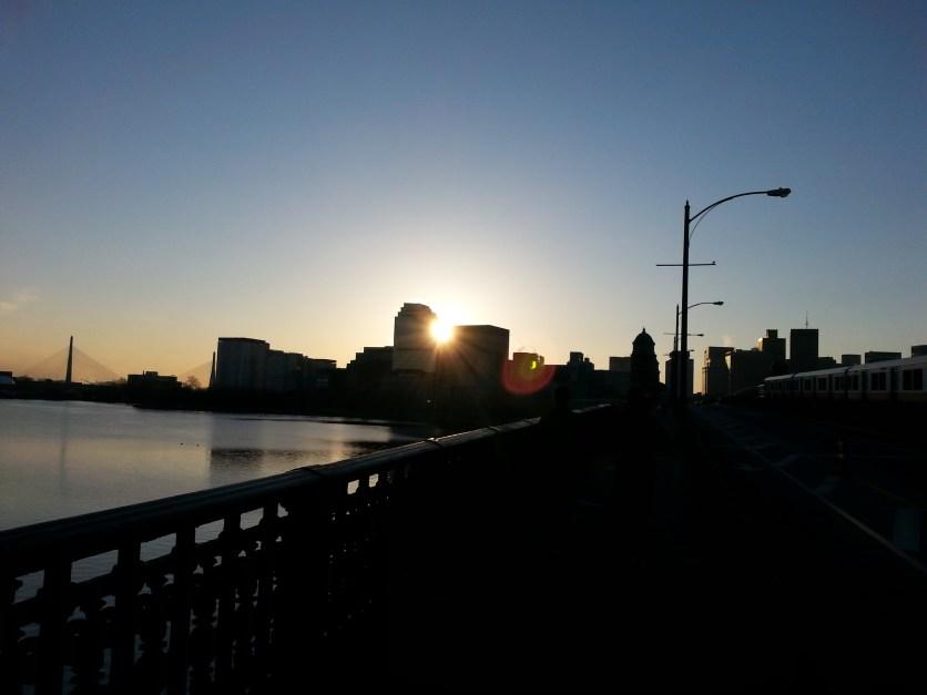 Sunrise, Longfellow Bridge