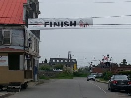 Finish Line on Main Street