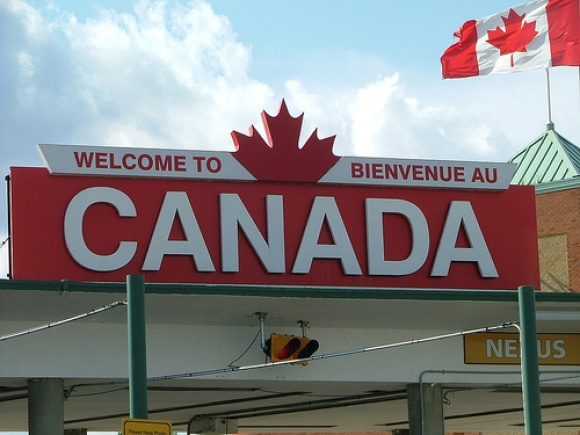 border crossing, customs,canada