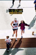 boston marathon,2003, first marathon experience