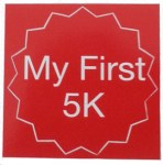 First 5k,my first 5k,sticker,stickers
