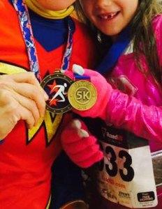 first 5k medal, medals for children