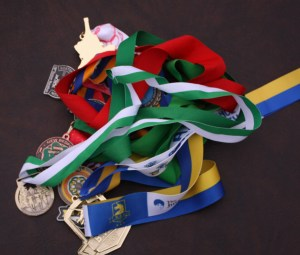 running medals, marathon medals