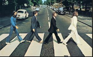 Beatles,pedestrians,abby road