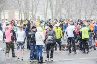 April Fool's 4 miler, runners