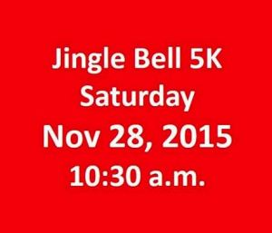 Medford Jingle Bell Run 2015, 5k
