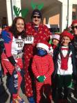 family 5k, holiday costumes