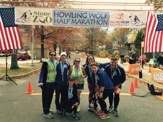 Mystic Runners, finish line