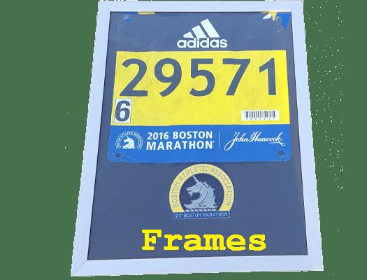 running medal display frame, finisher medal display