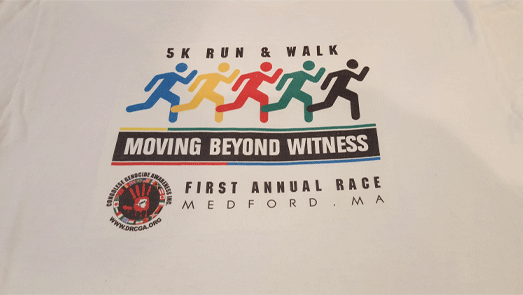Medford 5K race, favorite race shirts