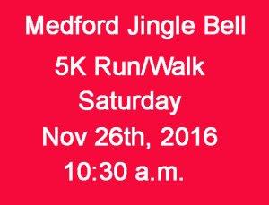 medford 5k races, jingle bell run