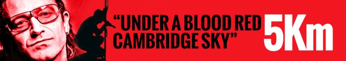 Under A Blood Red Cambridge Sky 5K