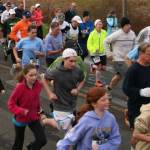 children running. kids races