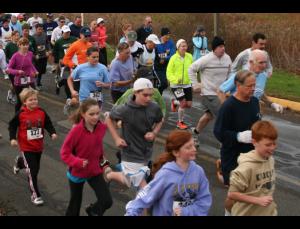 children running. kids races, what distance can my child run