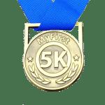 My First 5K, running medal, omni running