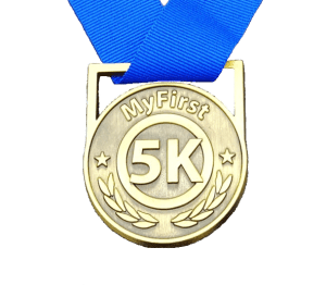 My First 5K, running medal, omni running