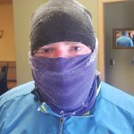 winter running, winter hat, balaclava