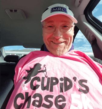 Cupids Chase 5K 2017 shirt