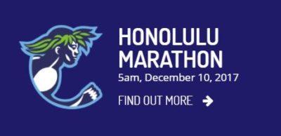 Honolulu Marathon 2017