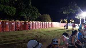Honolulu Marathon 2017, Porta Potties