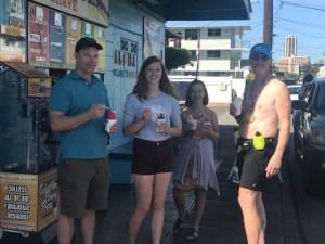 Honolulu Marathon, Waiola Shaved Ice, Hawaii Five-0
