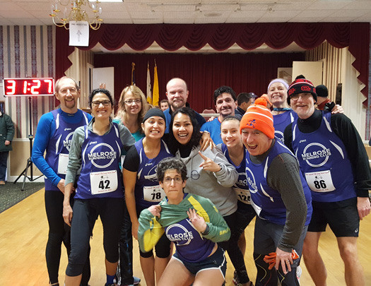 Melrose Running Club, Great Stew Chase 2018