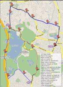 Sunday Long Run Week 7, Melrose Running Club, boston marathon 2018 training