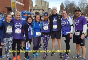 Malden Rotary Road Rac e 2018, Melrose Running Club