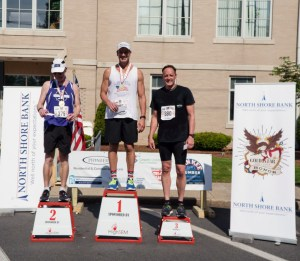 Scott Procopio Gold Star Run for Honor 10K 2018, Mens 50 to 59 Awards, Andy Nagelin