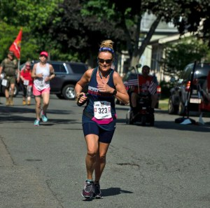 Regina Curran, Scott Procopio Gold Star Run for Honor 10K 2018